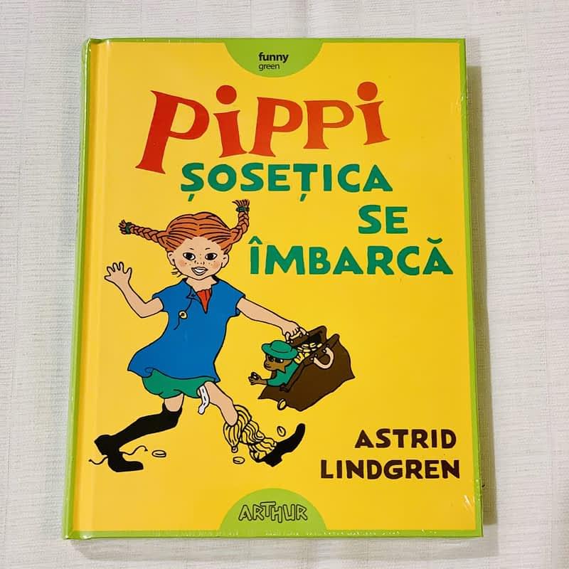 Pippi Șosețica se îmbarcă