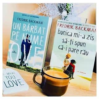 Bună dimineața ☀️ ☕️ cu ce carte vă luați cafeaua astăzi?   ___________________________ Cumpărați cărți 📚📚📚 pe www.romanianbooksusa.com iar noi le vom livra rapid 🚚🚛 direct la ușa voastră oriunde în SUA 🇺🇸 și Canada🇨🇦  P.S. Pentru comenzile in valoare de $75 livrarea este gratuită (ofertă valabilă doar pentru SUA)  #romanianbooksusa #cumparaonline #librarieromaneasca #cartiromanesti #librarieromaneascaonline #romanianbooks #weekendreads #mybookfeature #featuremybook #fredrickbackman #lectura #citesteocarte #citestesitu #decitit