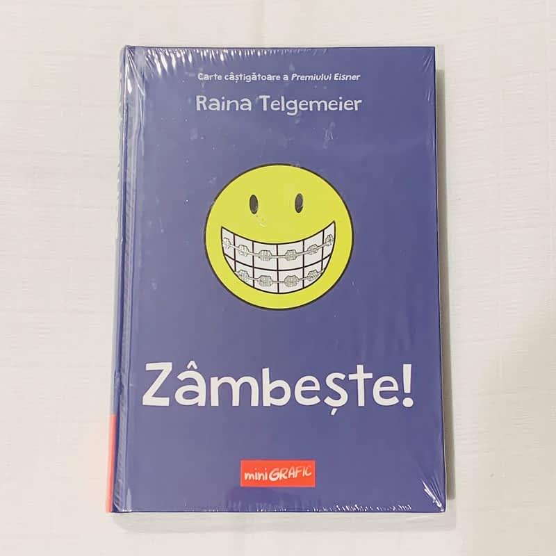 Zâmbește de Raina Telgemeier